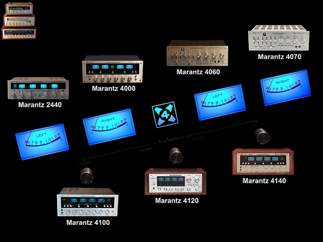 Marantz Quad Amps