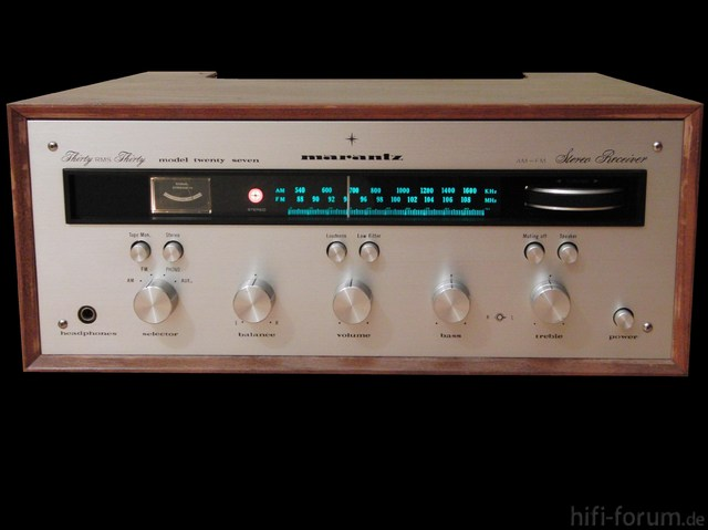 "Marantz ""twenty Seven"" Early Version Www.vintage-marantz.com"