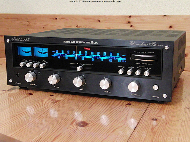 Model 2225 Black - Www.vintage-marantz.com
