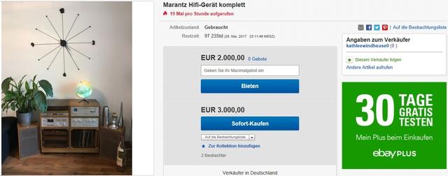 Rosita-Anlage Marantz 2110, 1072, 5010