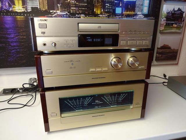 Sony CDP-X505ES / Marantz SC-11 / Marantz SM-11