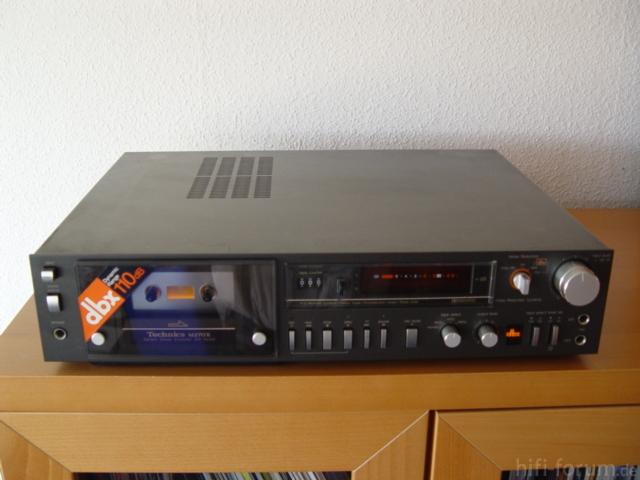 Technics RS-M275 Dbx