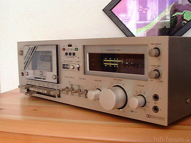 Technics RS-M63 In Silber