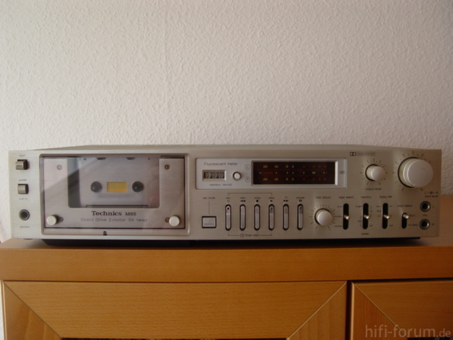 Technics RS-M65 in silber