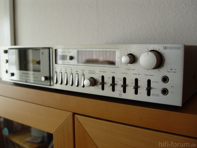 Technics RS-M88 in silber