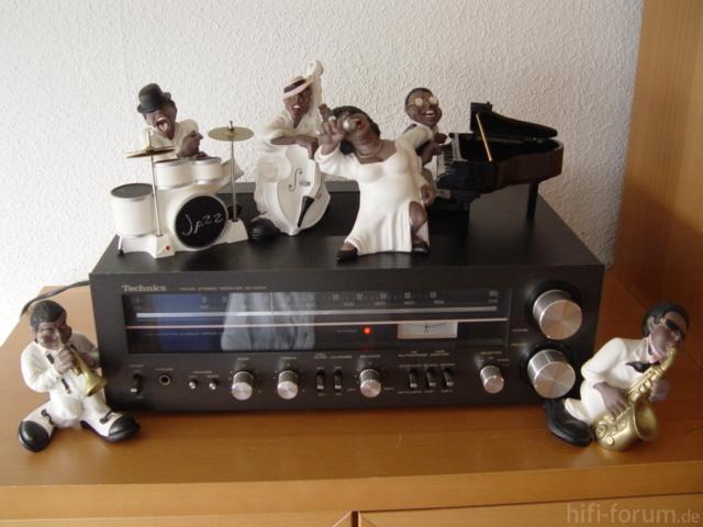 Technics SA-300 Mit Jazz-Band Von Antartidee