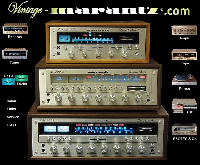 Vintage-Marantz Homepage