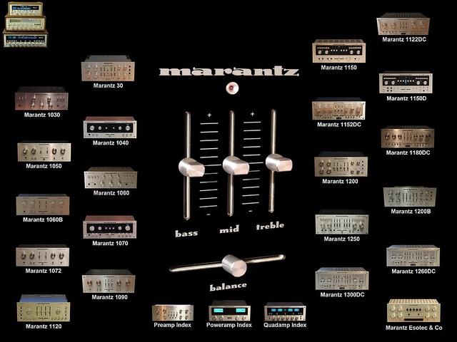 Vintage Marantz Int. Amps