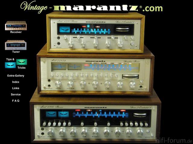 Www.vintage-marantz.com Startseite