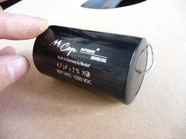 Mundorf Silber/Öl Kondensator