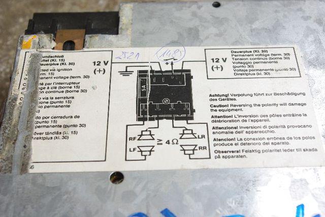 radio tauschen audiosysteme w124. Black Bedroom Furniture Sets. Home Design Ideas
