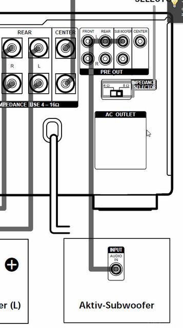 wie infinity alpha junior subwoofer anschliessen. Black Bedroom Furniture Sets. Home Design Ideas