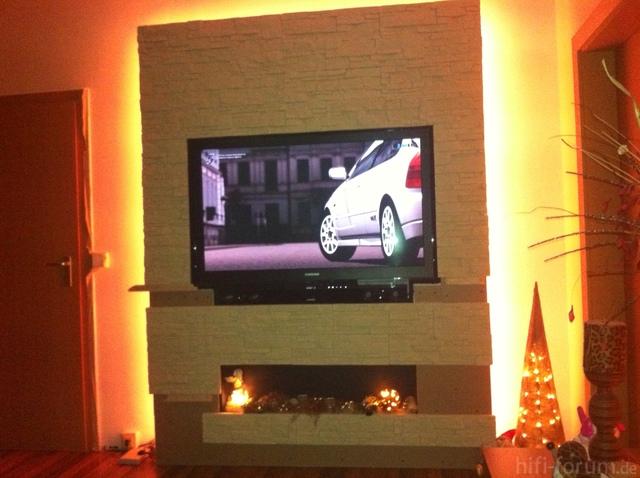 TV Wand selbstgemacht, Sonstiges - HIFI-FORUM