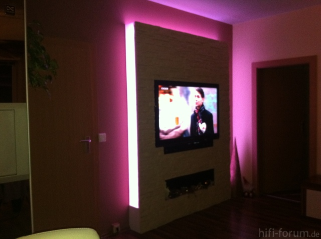 tv wand selbstgemacht sonstiges hifi forum. Black Bedroom Furniture Sets. Home Design Ideas