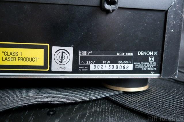 Denon  DCD-1460