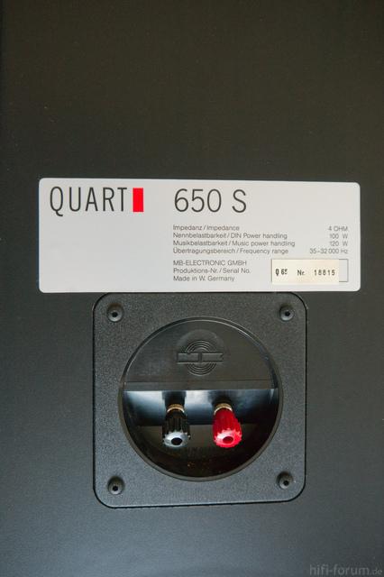 Quart 650 S