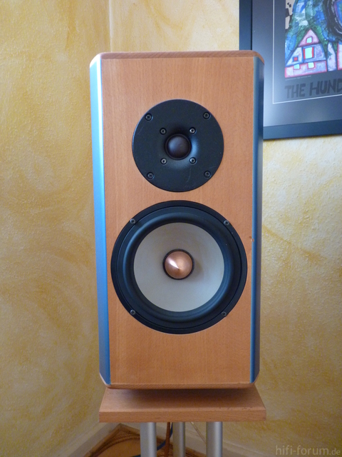 Zwei Wege Lautsprecher Mit Seas Excel Teibern