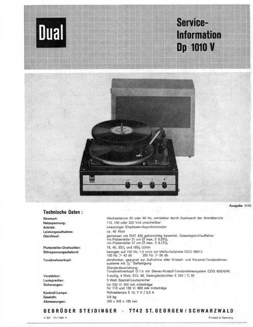 Dp1010Vservice 1