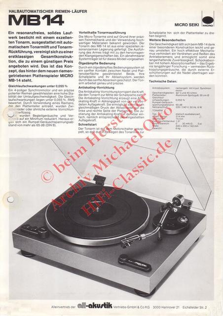 MICRO MB 14