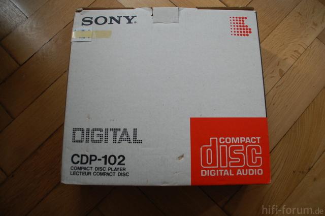 Sony CDP 102 001
