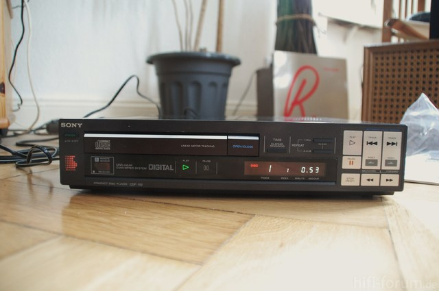 Sony CDP 102 002