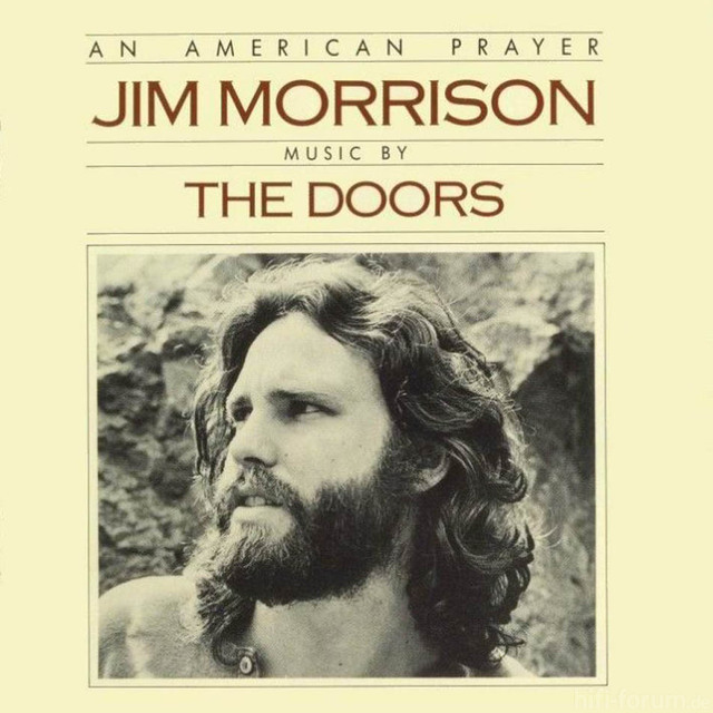 Jim Morrison Music By The Doors An American Prayer Frontal