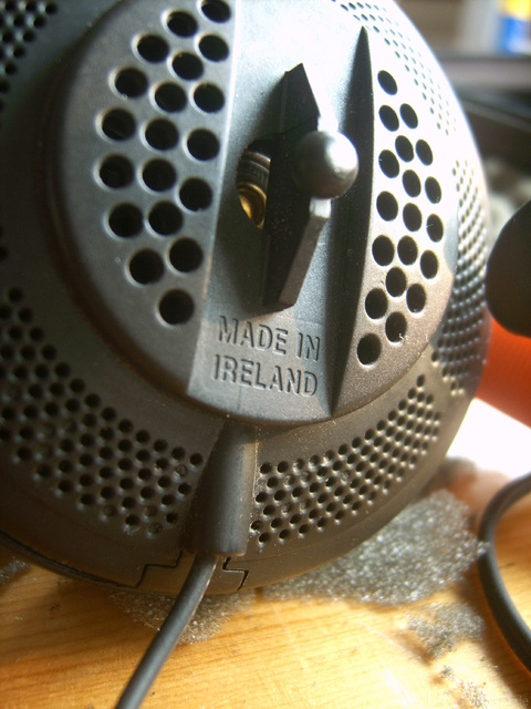 Sennheiser Hd 433 Made In Ireland?