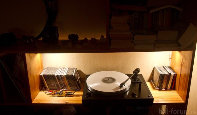 Phono-Amp und Thorens