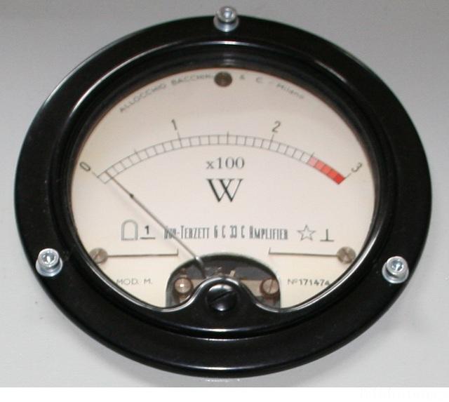 6x 6C33C PowerAmp VU-Meter