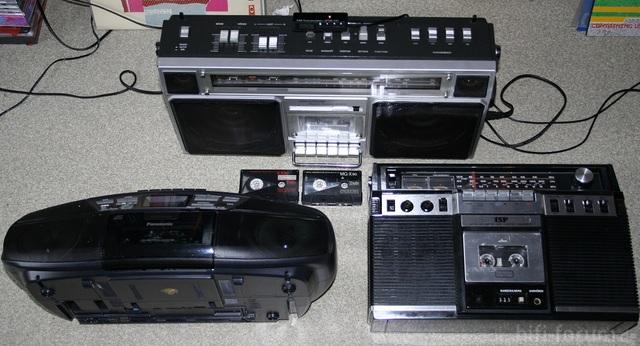 Ghetto-Blaster-Dreier