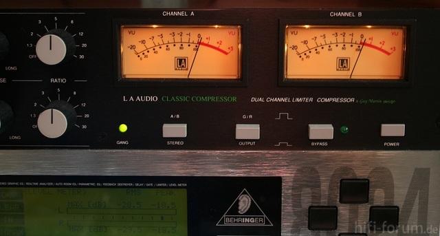 VU-meter Des Classic-Compressors