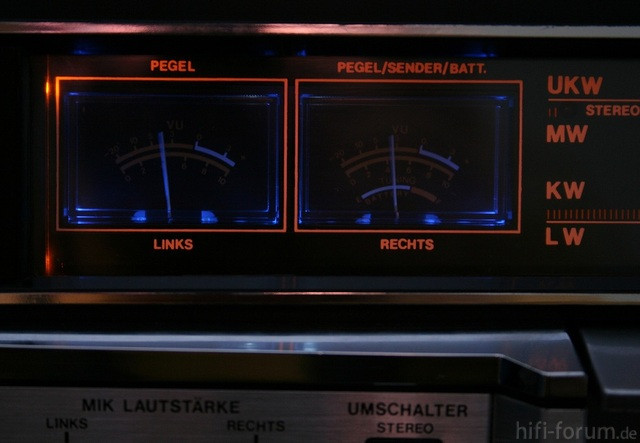 VU-Meter Vom ICS-Blaster