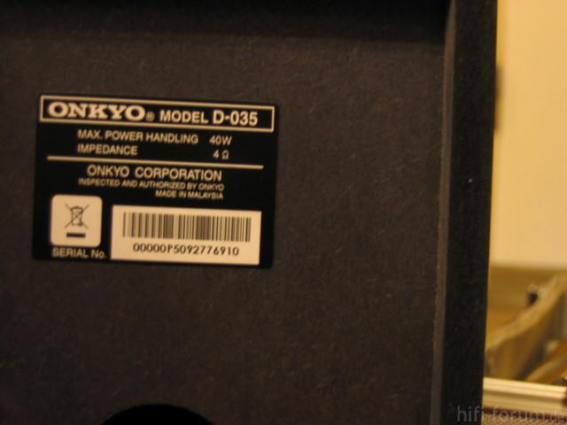 Onkyo Cr 305tx 012