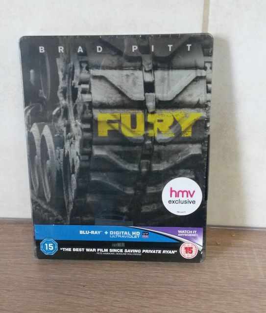 Fury Steelbook