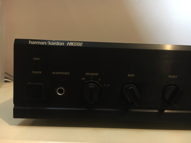 harman kardon hk6100 stereo verst rker 220watt verst rker. Black Bedroom Furniture Sets. Home Design Ideas
