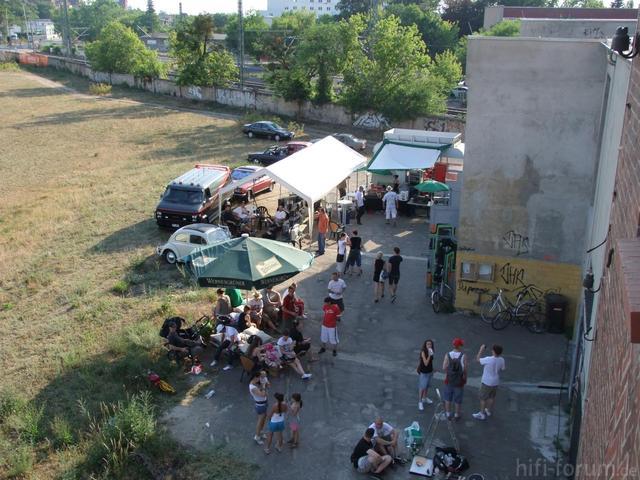 Ghettoblaster Party In Dessau