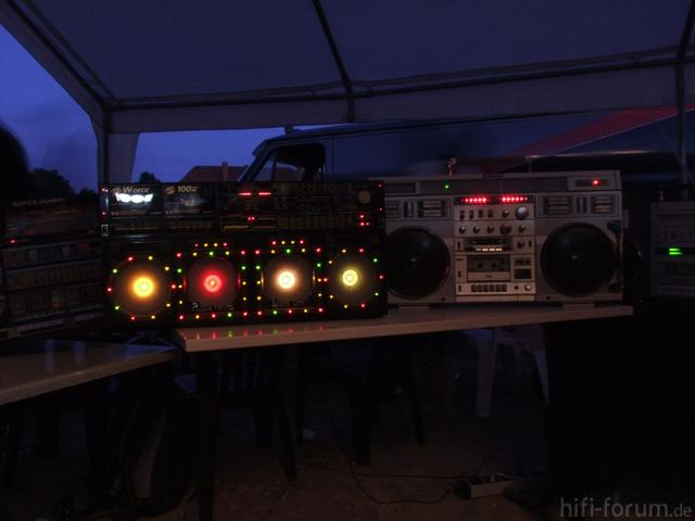 Ghettoblaster Party In Dessau