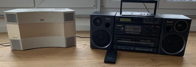 Panasonic RX DT680 vs Bose CD 3000