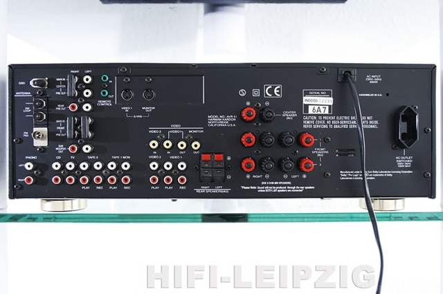 HARMAN AVR 51 Rear