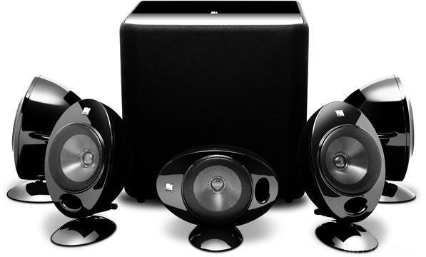 KEF KHT 2005 3 Speaker Package Silver