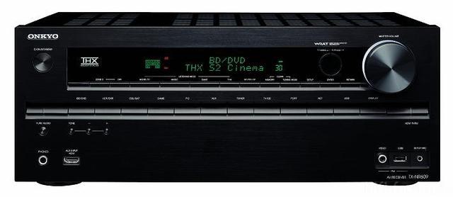 Onkyo Tx Nr 609 Front Black