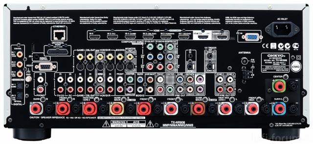 Onkyo TX NR808 LargeBack