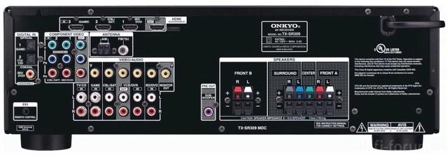 Onkyo Tx Sr 309