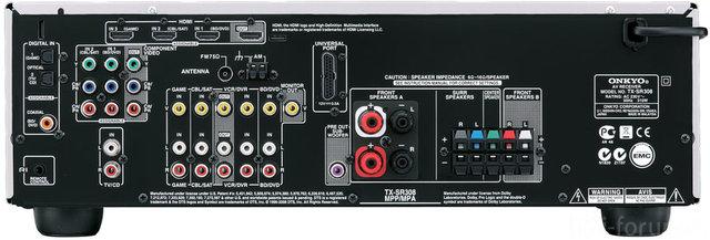 Onkyo TX SR308 Silver D 900