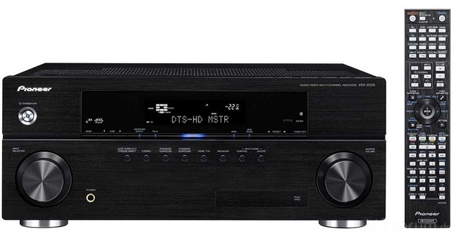 Pioneer VSX 2020 3d Av Receiver 01