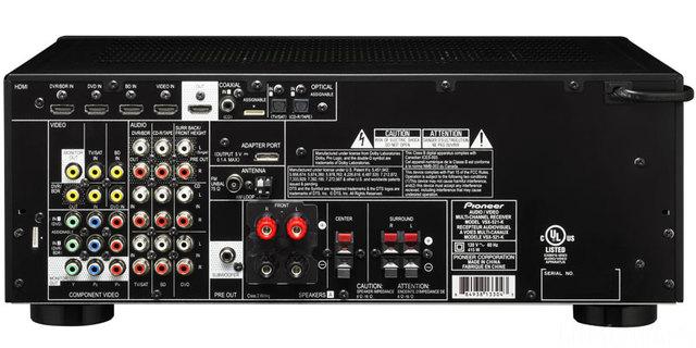 PIONEER VSX 521 Back Large