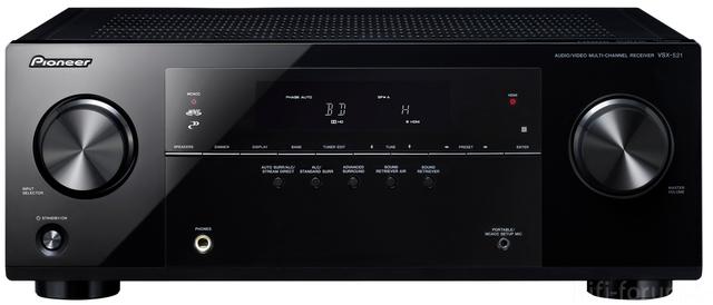 Pioneer Vsx 521 K Front