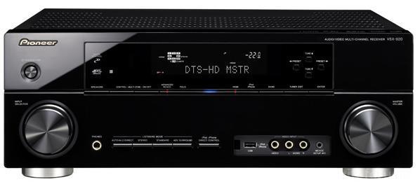 Pioneer VSX 920 Front Top 670