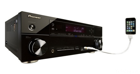 Pioneer VSX 920 K VSX 1020 K And VSX 1120 K AV Receivers With IPhone Control
