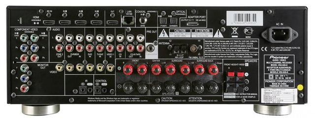 Pioneer Vsx 920 Rear